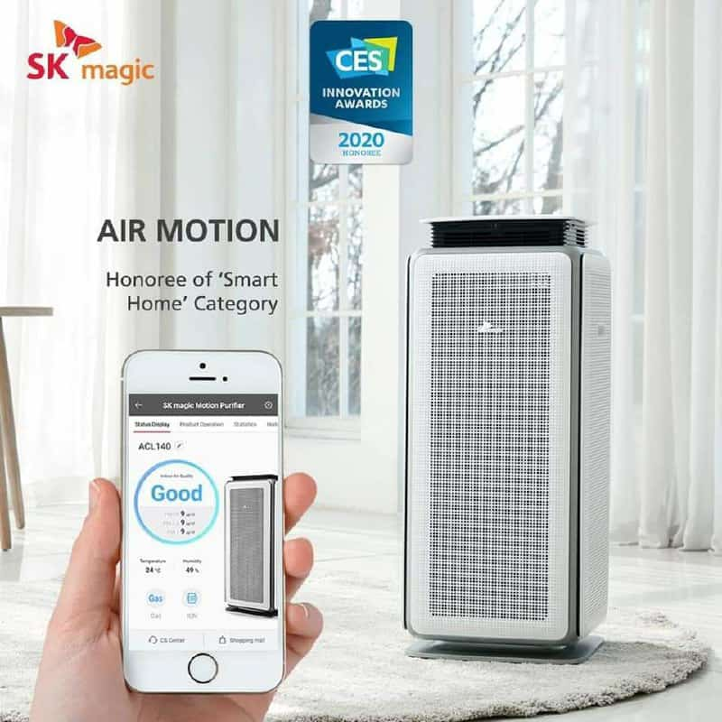 Motion air purifier ces awards 2020